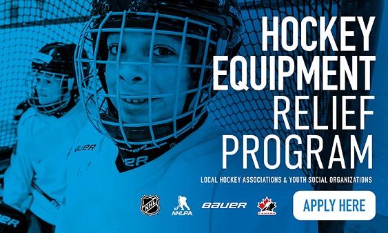 Hockey Equipment Relief Program