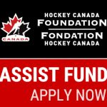 INTRODUCING THE $1 MILLION HOCKEY CANADA FOUNDATION ASSIST FUND