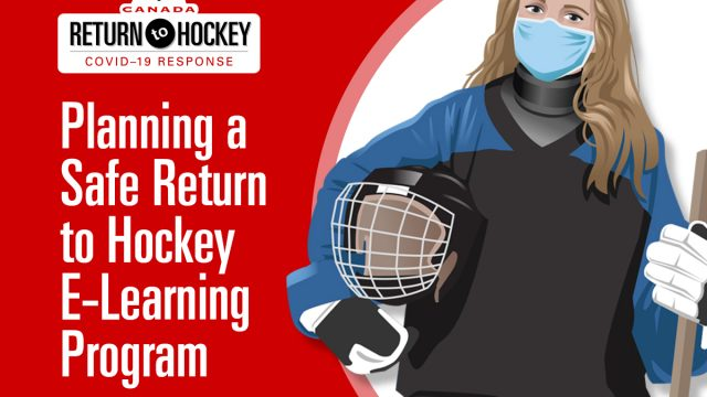 Planning a Safe Return to Hockey E-Learning Program