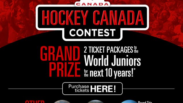 2021 IIHF World Junior Championship: the Hockey Canada Contest and Hockey Canada Memorabilia Auction