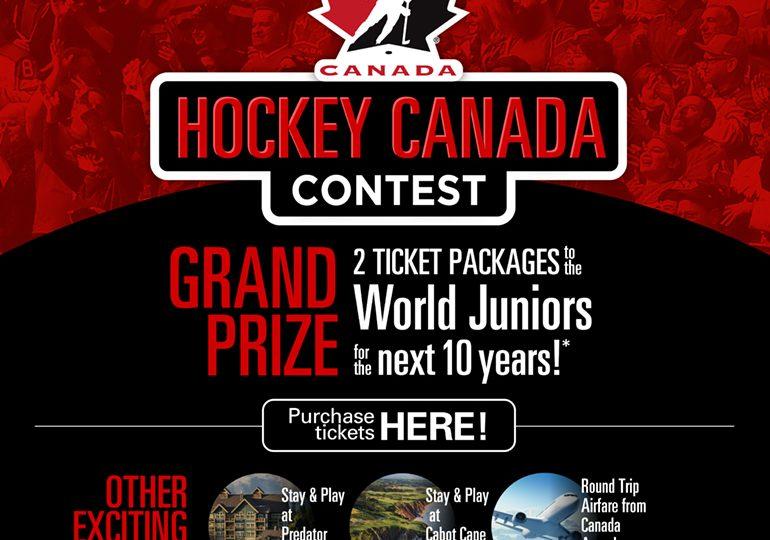 2021 IIHF World Junior Championship: the Hockey Canada Contest and Hockey Canada Memorabilia Auction
