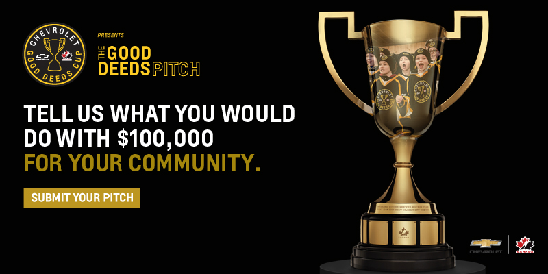 Chevrolet Good Deeds Cup – December 20th – January 28th (Submission Phase)