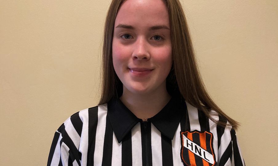 Hockey NL Would Like to Congratulate & Recognize, Molly Gill – Official of the Month, November 2020