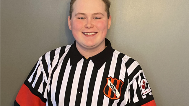 Hockey NL Would Like to Congratulate & Recognize, Dylan Murray – Official of the Month, December 2020