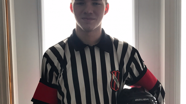 Hockey NL Would Like to Congratulate & Recognize, Alex Franey – Official of the Month, January