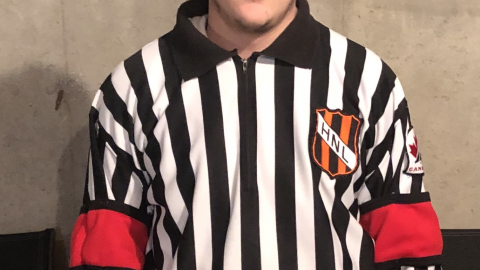 Hockey NL Would Like to Congratulate & Recognize, Cole Harris – Official of the Month, February